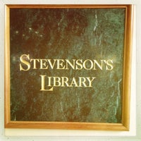 Photo taken at Stevenson's Library by Jeff P. on 9/17/2013