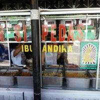 Photo taken at Nasi Pedas Ibu Andika by Kevin S. on 1/7/2013