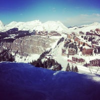 Photo taken at Avoriaz by Kevin B. on 1/20/2013