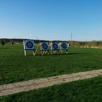 Photo taken at SK Amazones archery summer base by _Mo3_ on 5/3/2015