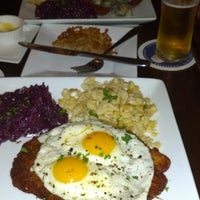 Photo taken at Heinrich's German Grill by Leo D. on 2/17/2013