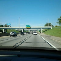 Photo taken at I-696, I-94 Interchange by Kristine on 9/19/2012