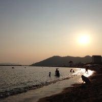 Photo taken at Suma Coast by igao_aka on 8/13/2013