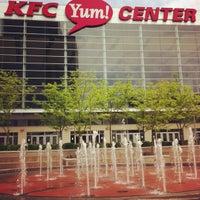 Photo taken at KFC Yum! Center by Brad C. on 4/29/2013