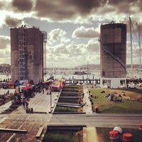 Photo taken at Wynyard Quarter by Alexey on 1/18/2013