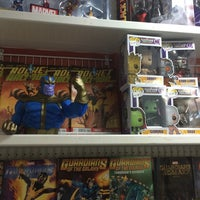 Photo taken at The Comic Room by Ty B. on 8/6/2014