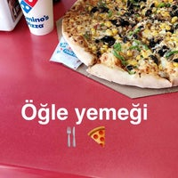 Photo taken at Domino's Pizza by Merve E. on 4/14/2017
