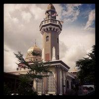 Photo taken at Masjid Jamek Haji Mat Saman by Asri S. on 9/25/2012