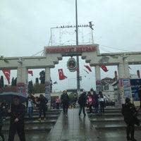 Photo taken at Bakırköy Özgürlük Meydanı by ENES K. on 4/21/2013