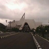Photo taken at Museum Gunung Api Merapi by Agung P. on 11/24/2012