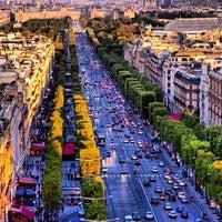 Photo taken at Avenue des Champs-Élysées by Ze P. on 7/30/2013