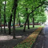 Снимок сделан в Щемиловский детский парк пользователем Anna K. 5/25/2013