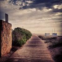 Photo taken at Prat Beach by Jose on 10/13/2012