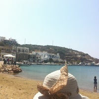Photo taken at Γλυφός by Smaragda on 8/20/2013