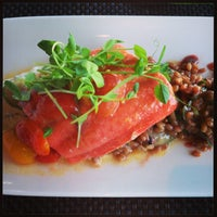 Photo taken at Miradoro Restaurant at Tinhorn Creek Vineyard by Dan on 9/1/2013