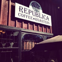 Photo taken at Republica Coffee Roasters by Dan on 9/6/2014