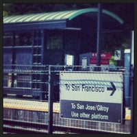 Photo taken at Mountain View Caltrain Station by Olivier C. on 5/19/2013