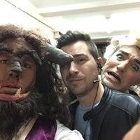Photo taken at Teatro Del Globo by Adrian on 10/25/2015