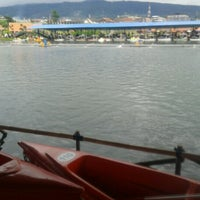 Photo taken at Floating Market Lembang by Rizkya P. on 1/24/2013