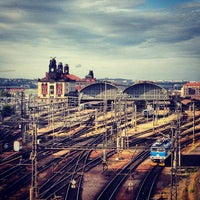 Photo taken at Prague Main Railway Station by Sandysosasa on 6/30/2013