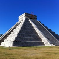 Photo taken at Chichén Itzá Archeological Zone by Wim B. on 11/11/2012