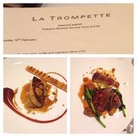 Photo taken at La Trompette by Len K. on 2/16/2014