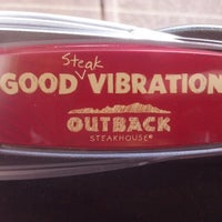 Photo taken at Outback Steakhouse by Joseph M. on 2/14/2013