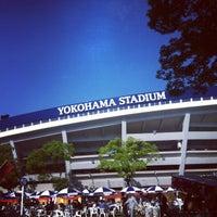 Photo taken at Yokohama Stadium by 현희 on 6/3/2013