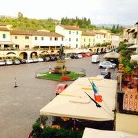 Photo taken at Albergo Del Chianti by Gokhan K. on 8/24/2015
