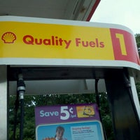 Photo taken at Shell by Edward M. on 9/7/2011