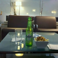 Photo taken at The Centurion Lounge by American Express by Juan Carlos G. on 1/29/2012