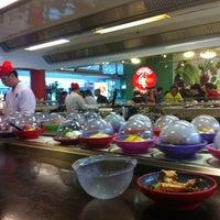 Photo taken at Okiru Running Sushi by Chris w. on 7/7/2012