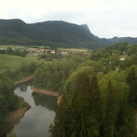 Photo taken at Viaduc du Day by Philippe B. on 5/20/2011