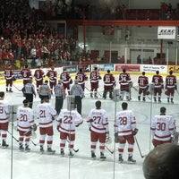 Photo taken at Lynah Rink by Maureen B. on 1/22/2012