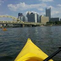 Photo taken at Kayak Pittsburgh by Tia on 8/13/2011