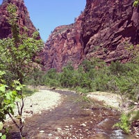 Photo taken at Zion National Park by Alex on 5/24/2012
