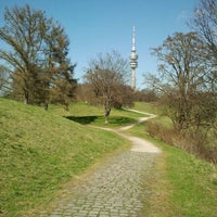 Photo taken at Olympiapark by Ralf W. on 4/1/2012