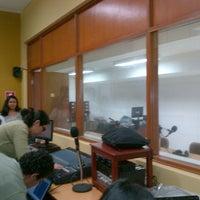 Photo taken at CPA . Centro de Producción Audiovisual de la Facultad de Comunicación - Udep by Katherine D. on 8/25/2012