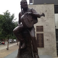 Photo taken at Willie Nelson Statue by Alison R. on 4/30/2012