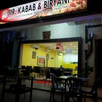 Photo taken at Mr. Kabab & Biryani by Salmah Emma on 6/13/2012