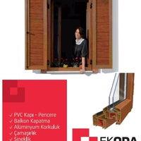 Photo taken at Ekoda Balkon Camlama Ve PVC Sistemleri by Fatih S. on 7/21/2014