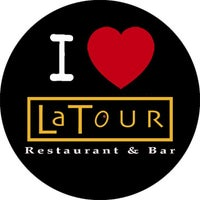 Photo taken at La Tour Restaurant & Bar by Paul F. on 7/1/2014
