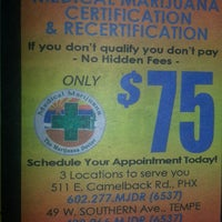 Photo taken at The Marijuana Doctor by Marie S. on 12/19/2013