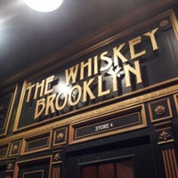 Photo taken at The Whiskey Brooklyn by E M. on 3/17/2013