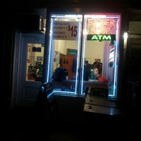 Photo taken at David's Barber Shop by E M. on 3/10/2013