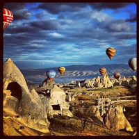 Photo taken at Cappadocia by Bülent A. on 4/2/2013
