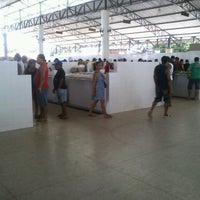 Photo taken at Mercado do Pescado by Alinne S. on 3/28/2013