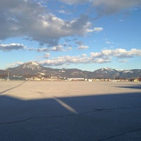 Photo taken at Salzburg Airport W. A. Mozart (SZG) by Girshin on 3/19/2013