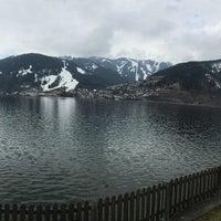 Photo taken at Kurpark Thumersbach by Nongetjie K. on 3/13/2016