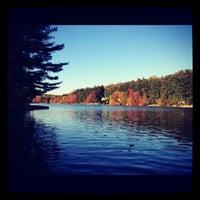Photo taken at Pinewood Lake by Kristina on 10/29/2012